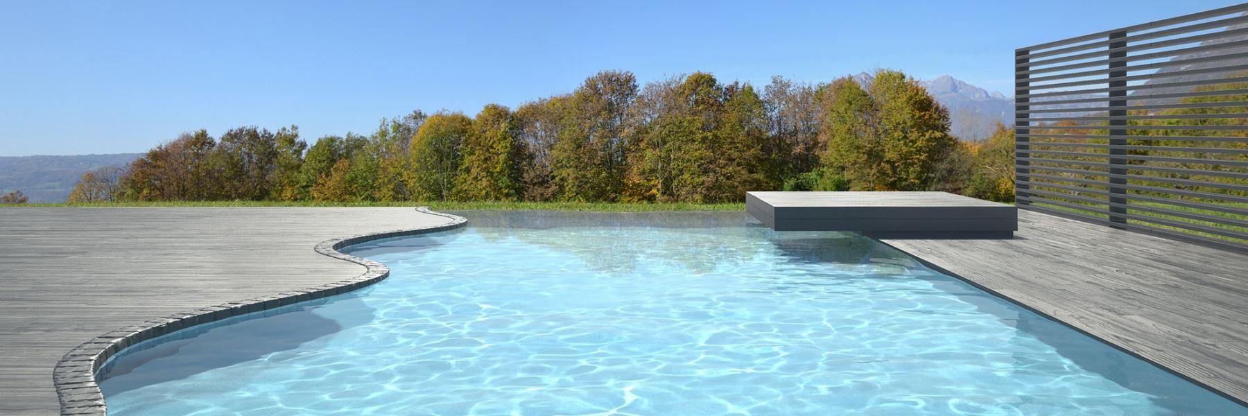 Piscine béton armé toutes les formes et dimensions | Aquafeat